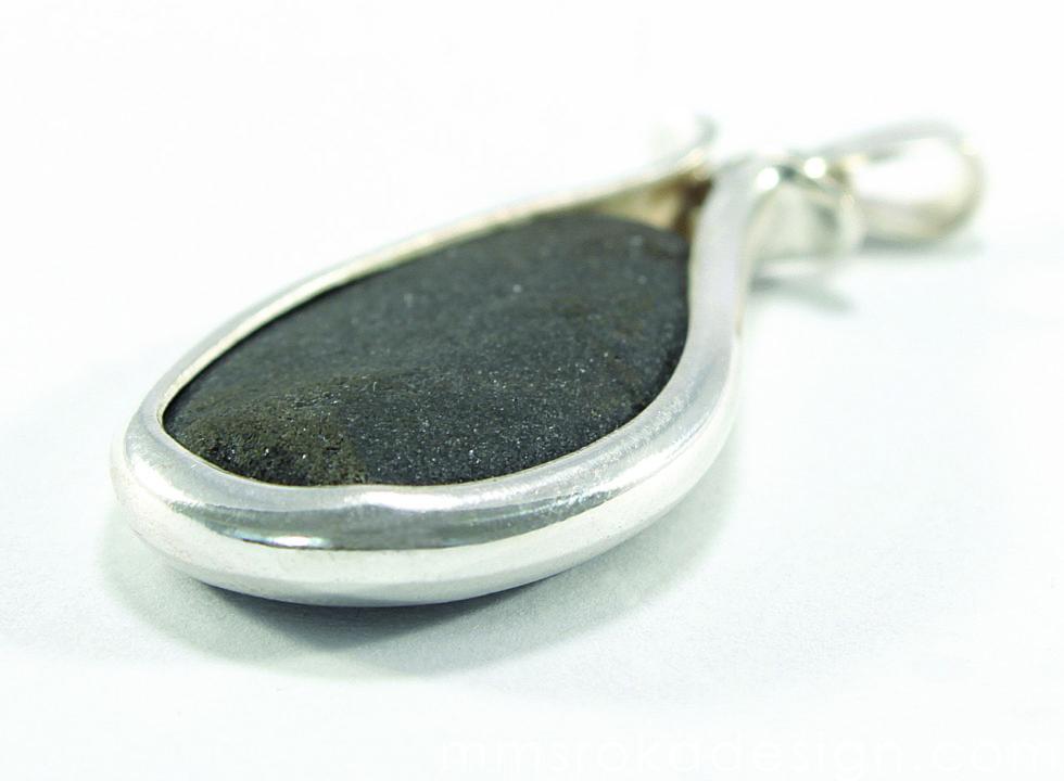 Zawieszka srebrna z kamieniem MMZ43_1