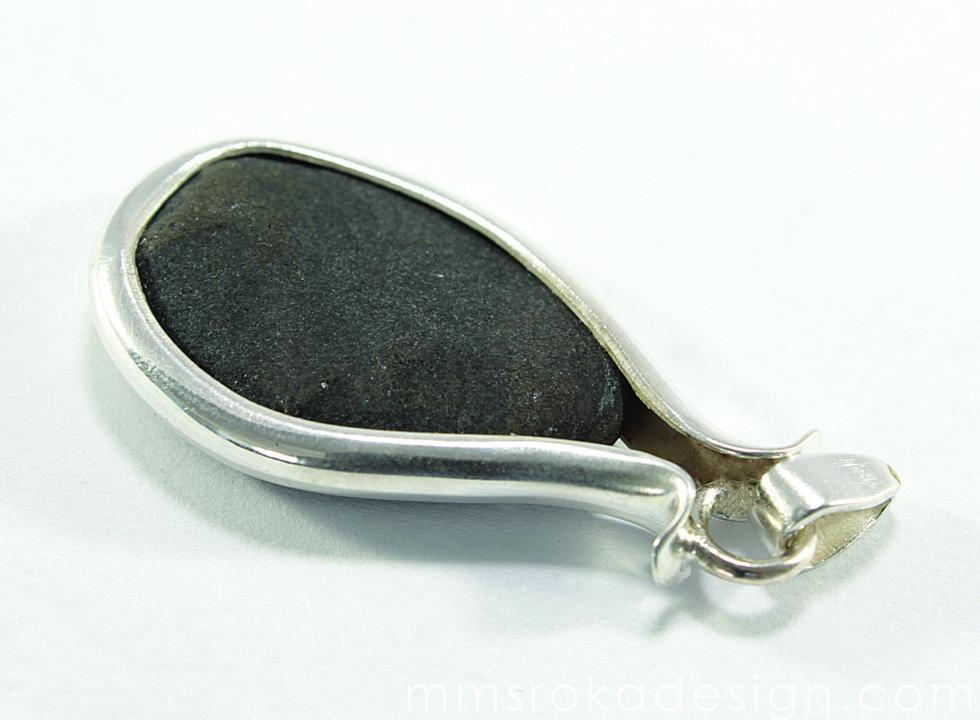 Zawieszka srebrna z kamieniem MMZ43_2