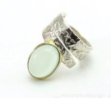 Pierścionek z kamieniem księżycowym MMP62 [sprzedany]