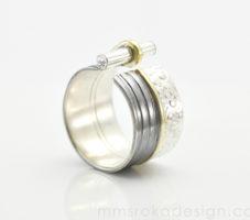 Obrączka srebrna MMP77 [na zamówienie]