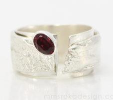 Obrączka srebrna MMP86 [sprzedana]