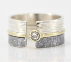 Obrączka srebrna MMP85