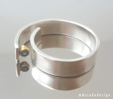 Pierścionek srebrny MMP98