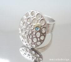Pierścionek srebrny MMP99