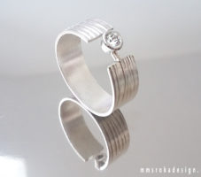 Obrączka srebrna MMP101