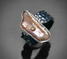 Pierścionek srebrny MMP110