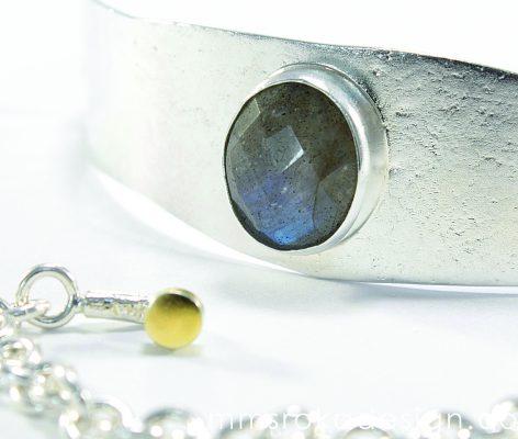 bransoletka srebrna MMB15d