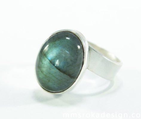 pierścionek srebrny MMP28b