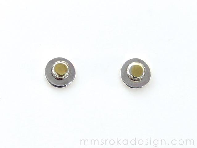 Kolczyki srebrne MMK41