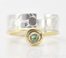 Obrączka srebrna MMP84