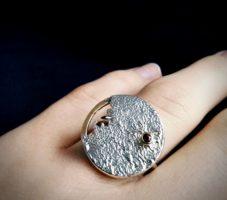 Pierścionek srebrny MMP117