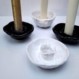 świecznik ceramiczny grzybek mm sroka design