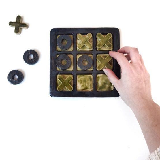 ceramiczna gra kółko i krzyżyk