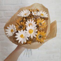kwiaty ceramiczne stokrotki