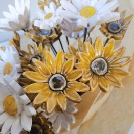 kwiaty ceramiczne