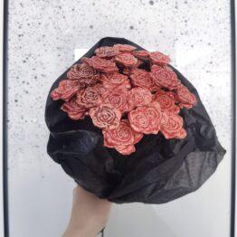 ceramiczne róże