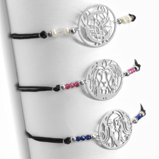 bransoletki ze znakami zodiaku