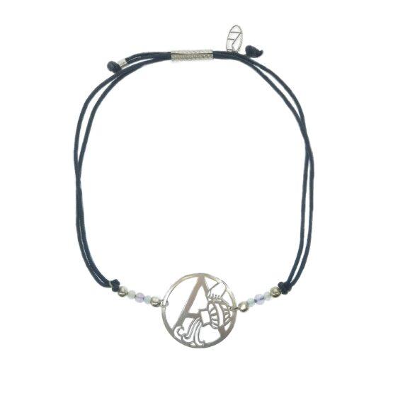 bransoletka znak zodiaku z kamieniami naturalnymi