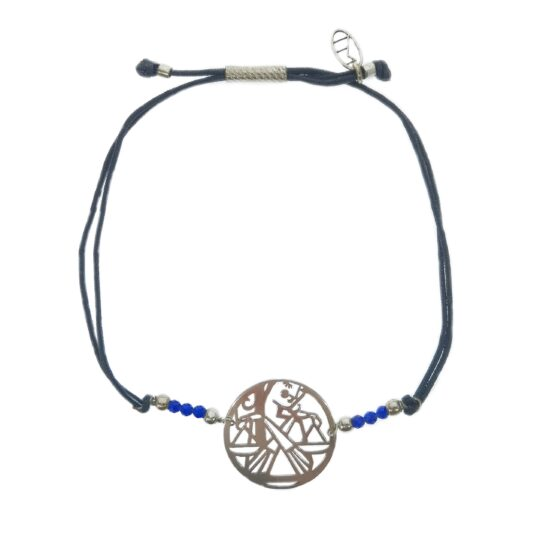 znaki zodiaku bransoletka z kamieniami naturalnymi