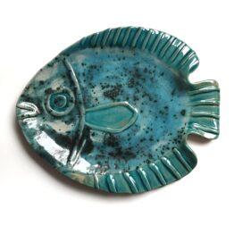 ceramiczna ryba patera