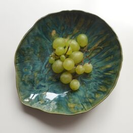 mmsrokadesign ceramiczna miska muszla