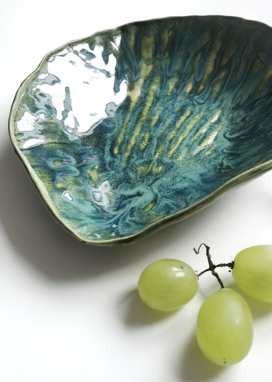 ceramiczna miska muszla