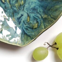 miska ceramiczna muszla