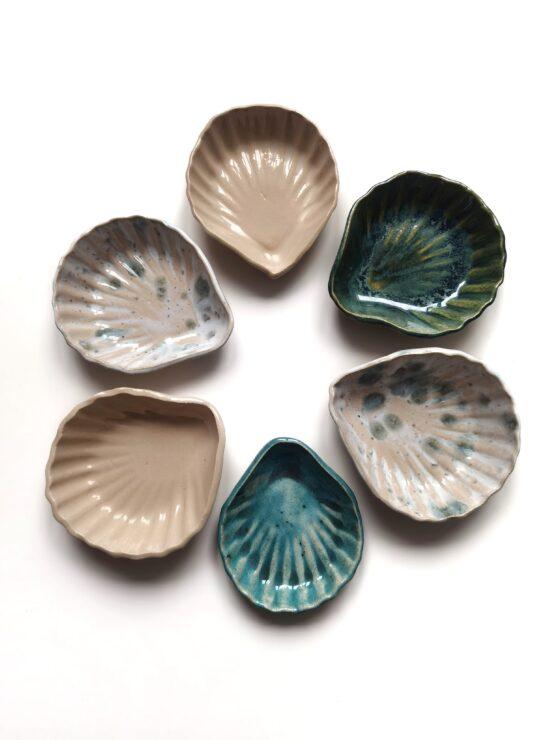 muszelki ceramiczne mm sroka design