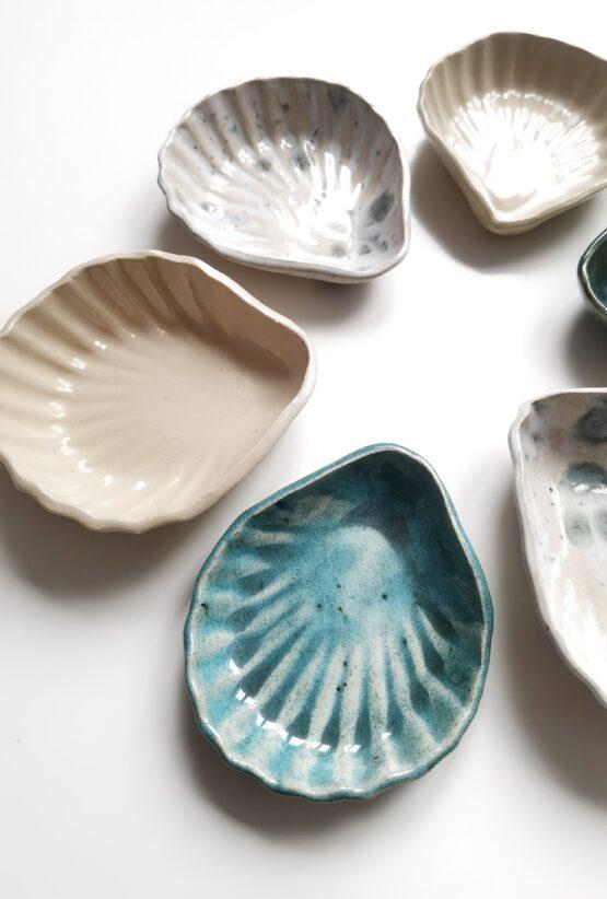 miseczka ceramiczna muszelka